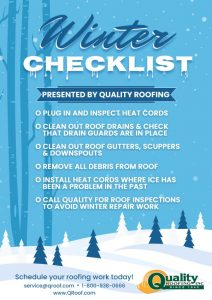Winter check list