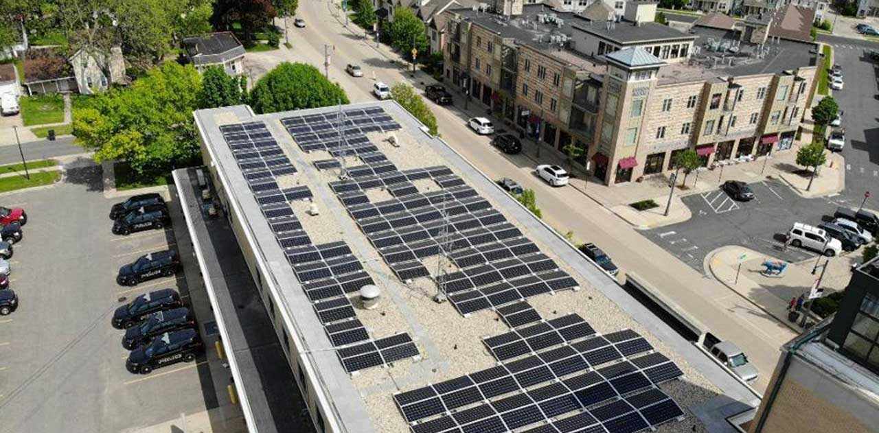 QUALITY ROOFING HELPS WISCONSIN COMMUNITY GO GREEN WITH SOLAR ROOFING PANELS