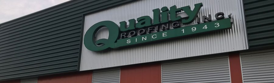 Quality roofing building