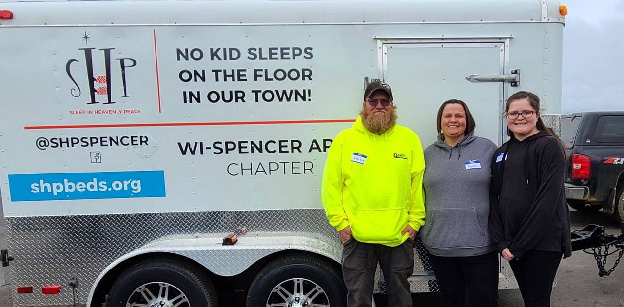 Quality Roofing Donates Build Space for Sleep in Heavenly Peace