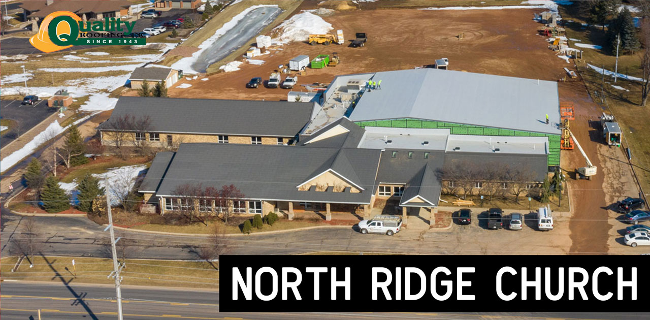 North Ridge Church Commercial Roofing Project