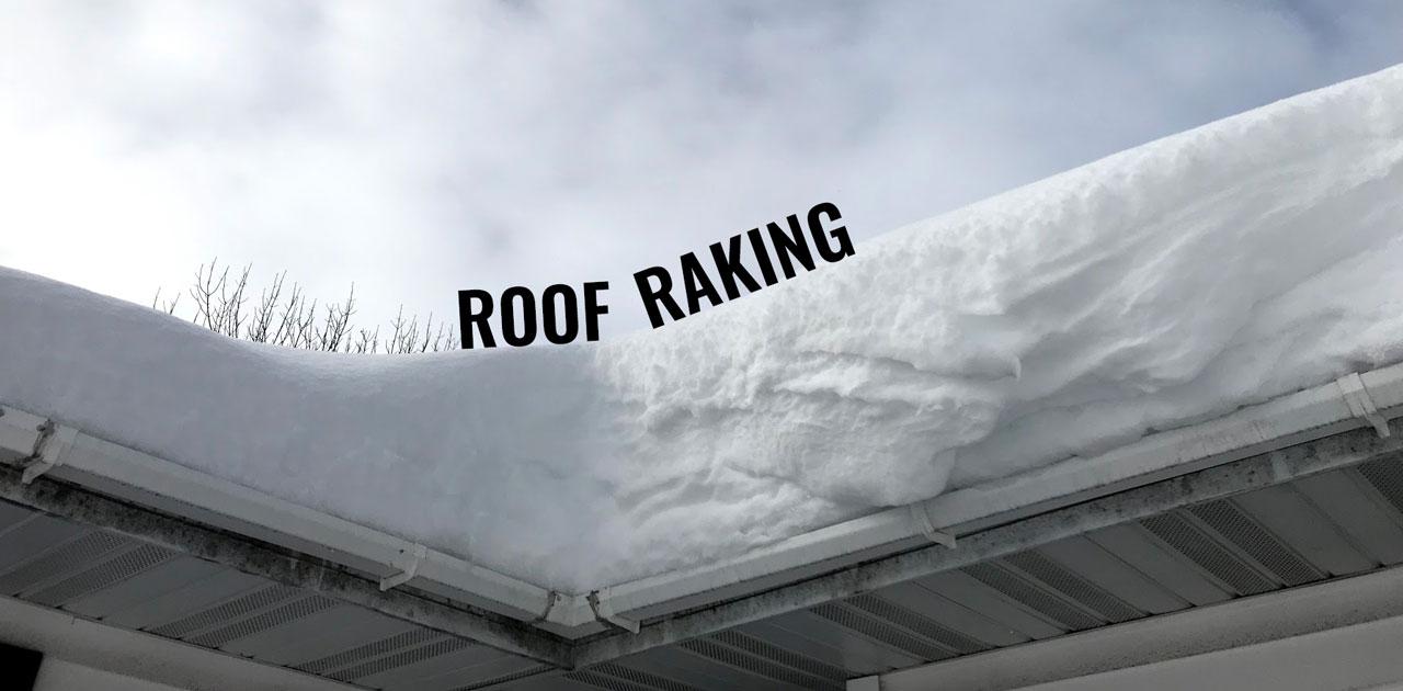Should I Rake My Roof?