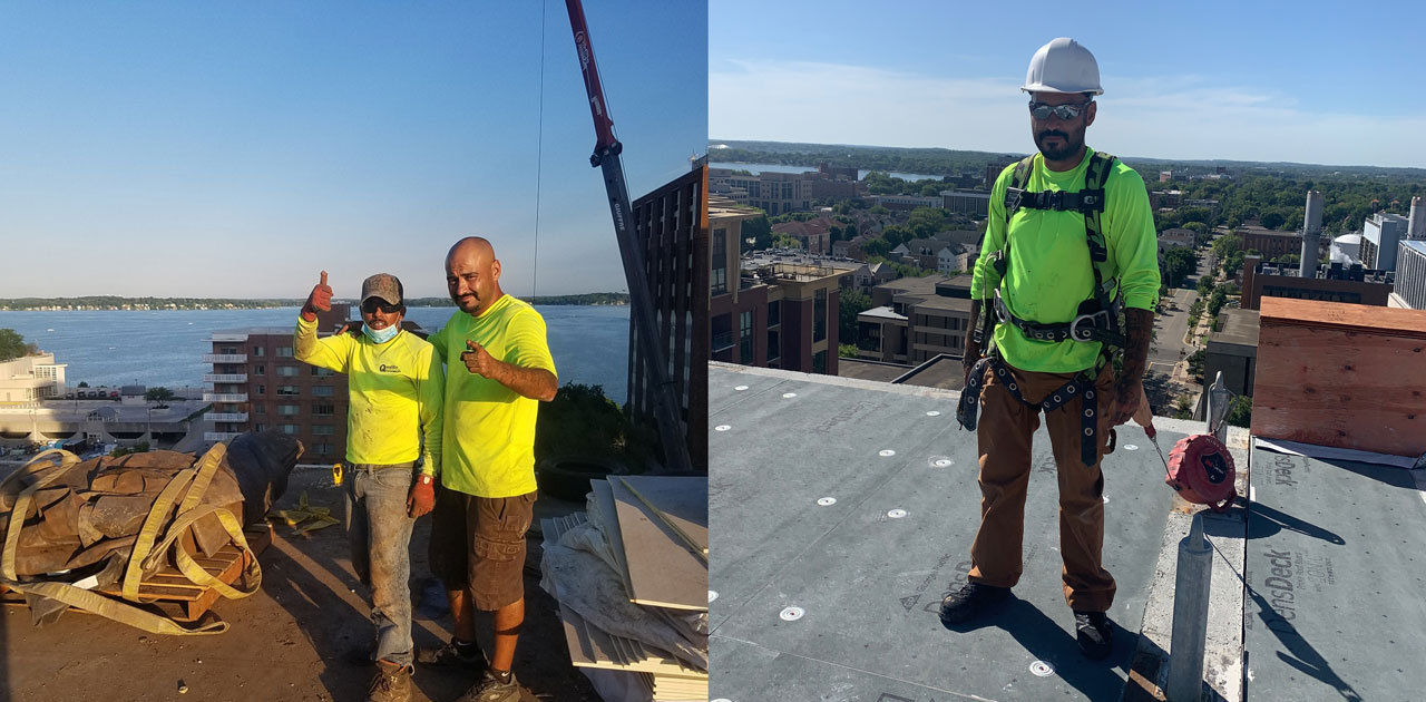 Quality Roofing's Steve Lopez Uses Unique Life Experience to Mentor New Hires